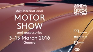 Geneva International Motor Show Banner