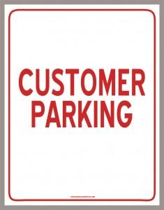 cheap-dealer-supply-parking-sign