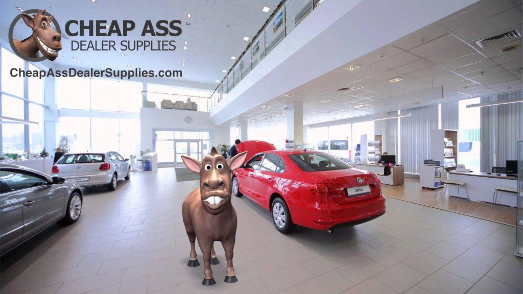 Cheap Ass auto dealers supply